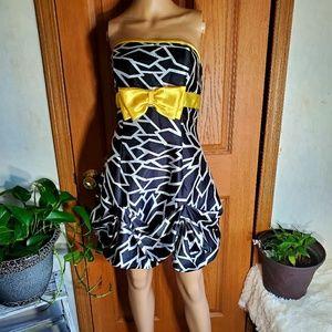 Vintage 90s Gunne Sax corset 90s prom dress
